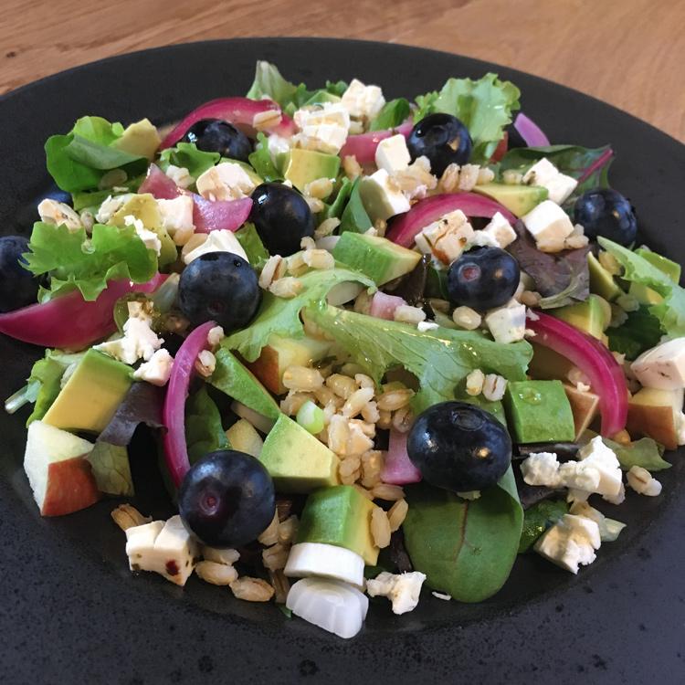 lækker dressing til salat
