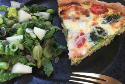 Server den sådan, broccolitærte