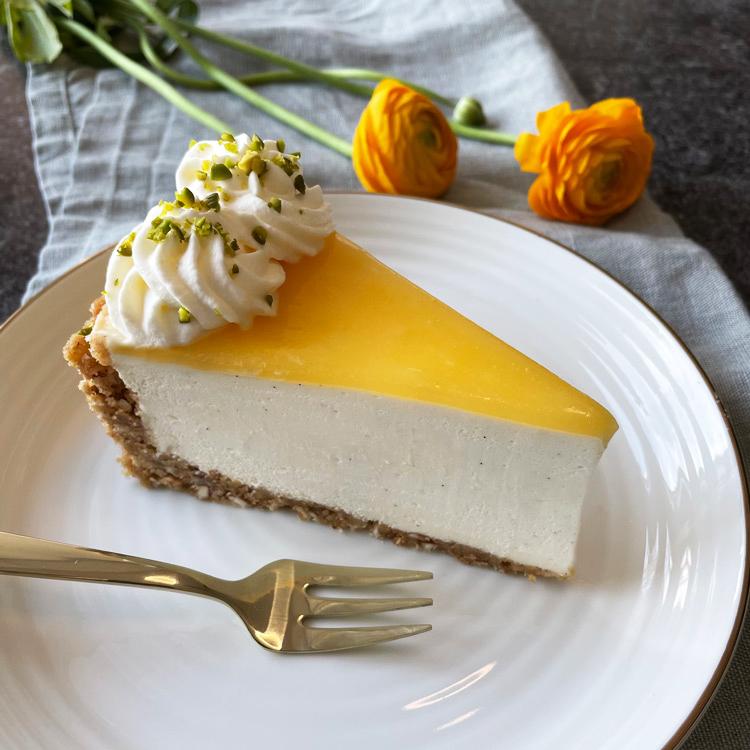 Citroncheesecake med lemoncurd