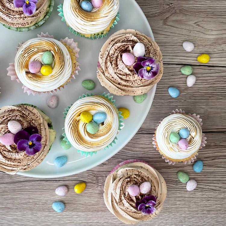 Paaske cupcakes